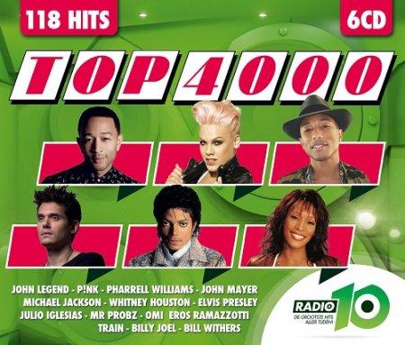 Обложка Radio 10 Top 4000 [6CD] (2015) MP3