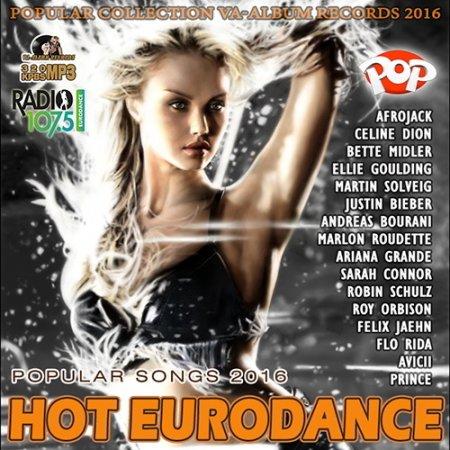 Обложка Hot Eurodance Party (2016) MP3