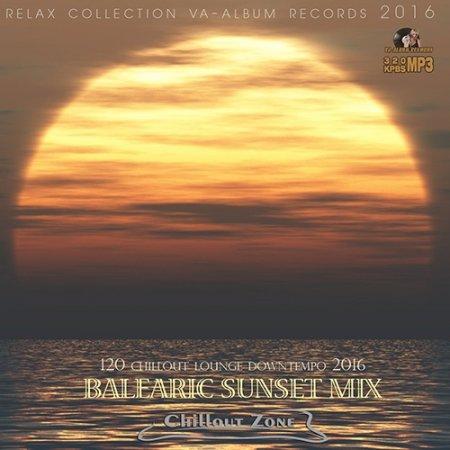 Обложка Balearic Sunset Mix (2016) MP3