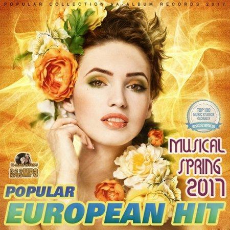 Обложка 100 Popular European Hit (2017) Mp3