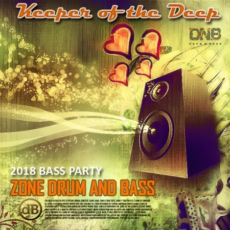 Обложка Keeper Of The Deep: Zone Drum And Bass (2018) Mp3