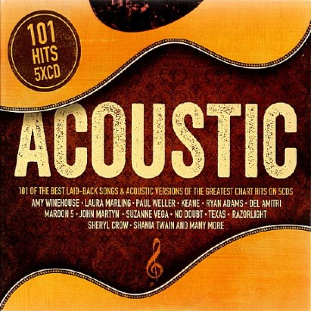Обложка 101 Acoustic (5CD) (2018) Mp3
