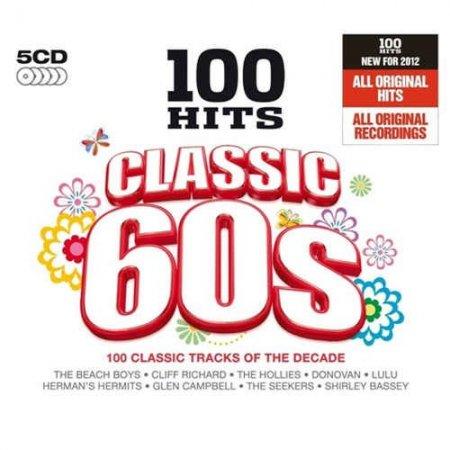 Обложка 100 Hits: Classic 60s (5CD Box Set) (2011) FLAC