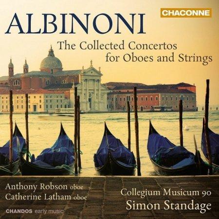 Обложка Collegium Musicum 90, Simon Standage - Albinoni: The Collected Concertos for Oboes and Strings (2013) FLAC
