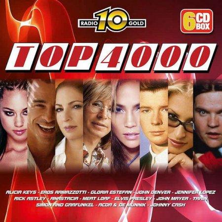 Обложка Radio 10 Gold Top 4000 Editie (6CD Box Set) (2012) FLAC