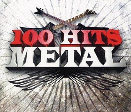 Обложка 100 Hits Metal (6CD Box Set) (2008) Mp3