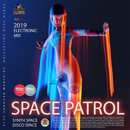 Обложка Space Patrol: Synth Electronic Compilation (2019) Mp3