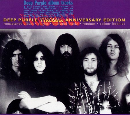 Обложка Deep Purple - Fireball (Anniversary Edition) (1971) FLAC