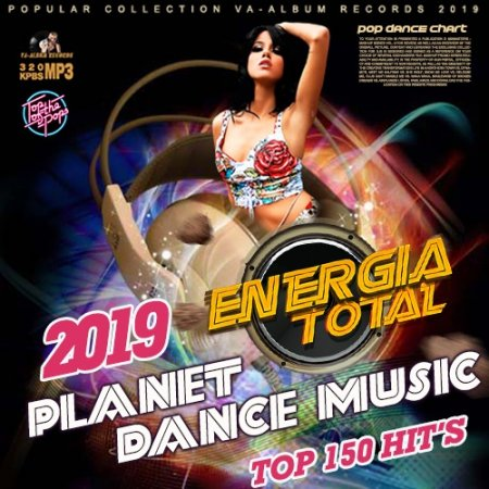 Обложка Planet Dance Music: Euromix Energia Total (2019) Mp3