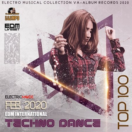 Обложка EDM International Techno Dance (2020) Mp3