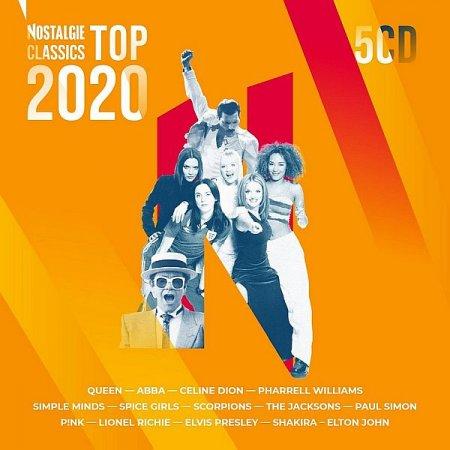 Обложка Nostalgie Classics Top 2020 (5CD) (2020) Mp3