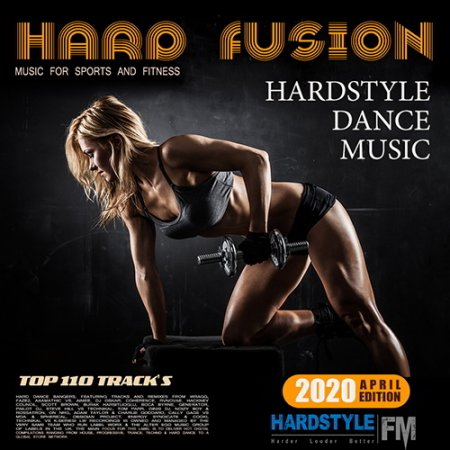 Обложка Hard Fusion: Hardstyle Music For Sport (2020) Mp3