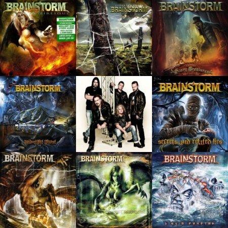 Обложка Brainstorm - Discography (17 CDs) (1997-2019) Mp3