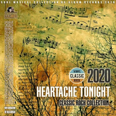 Обложка Heartache Tonight - Classic Rock Collection (2020) Mp3
