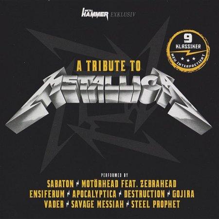 Обложка A Tribute to Metallica (Metal Hammer Promo CD) (2020) MP3/FLAC